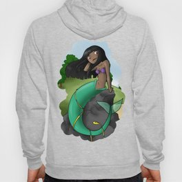 Little mermaid naga Hoody