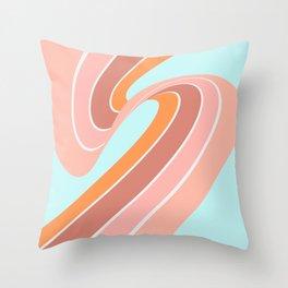 Slide into Summer Throw Pillow