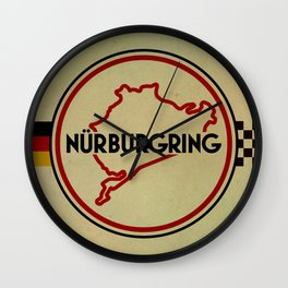 Nürburgring, the Green Hell Wall Clock