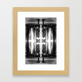 Double Vision from Michigan Avenue, Chicago Framed Art Print