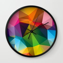 Geometric view Wall Clock