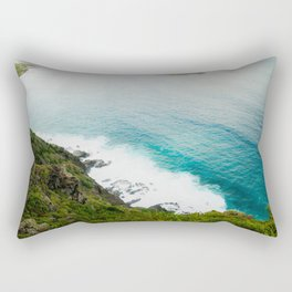 Makapuʻu Waves Rectangular Pillow