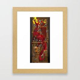 Dragon Inside Framed Art Print