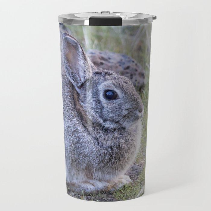 Spring Bunny Travel Mug