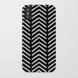 Graphic_Black&White #3 iPhone Case
