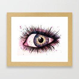 cosmic eye 2 Framed Art Print
