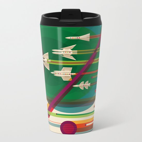 NASA/JPL Poster (The Grand Tour) Metal Travel Mug