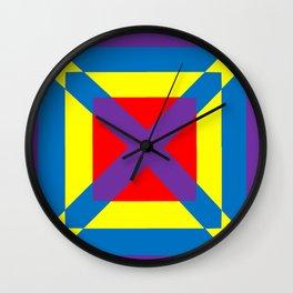 Colorful Square Wall Clock