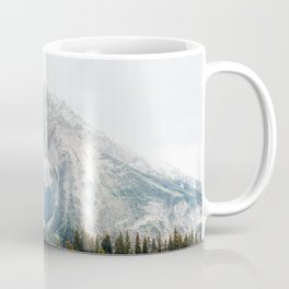 Lake in Canada Rocky Mountains Alberta British Columbia Coffee Mug