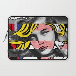 Roy Lichtenstein's M-Maybe & Lauren Bacall Laptop Sleeve