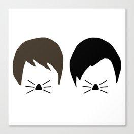 Dan and Phil Canvas Print