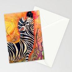 Color Stripes Stationery Cards