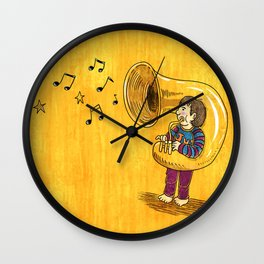 The Dream Of My Childhood Wall Clock