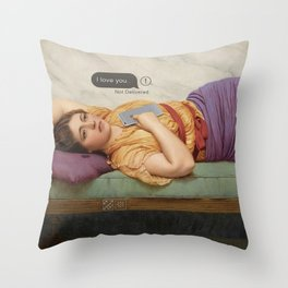Not Delivered Throw Pillow