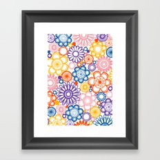 BOLD & BEAUTIFUL quirky Framed Art Print