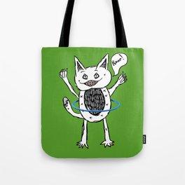 Monster Hula Hoop Tote Bag