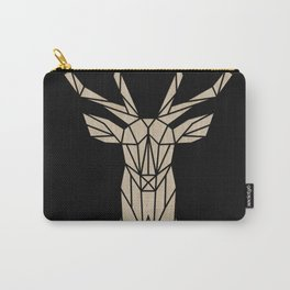 Wooden polygon deer Carry-All Pouch