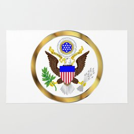 Great Seal Of America Rug