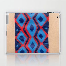 Fire and Cobalt Aztec Rug Laptop & iPad Skin