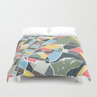 texas Duvet Covers featuring Austin Texas. by Studio Tesouro
