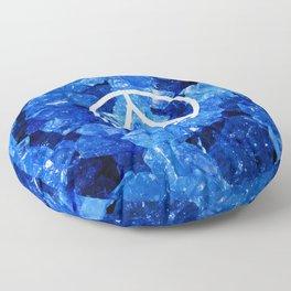Sapphire Candy Gem Floor Pillow