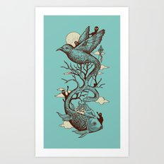 Escape from Reality Art Print