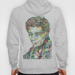 ANTONIN ARTAUD - watercolor portrait.1 Hoody