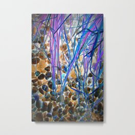 Nature Remixed Metal Print
