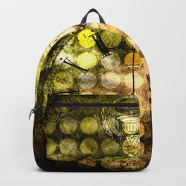 MELANGE WITH A CLOCK Backpack