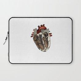Anatomical Heart  Laptop Sleeve