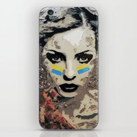 ukraine iPhone & iPod Skins featuring Ukraine, Stand Up! by AsyaCreativeArt