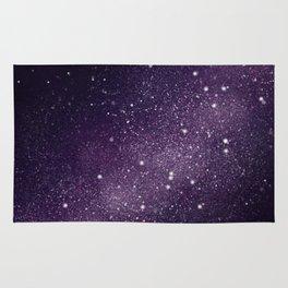 Puple Galaxy Rug
