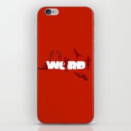 Word Play iPhone Skin