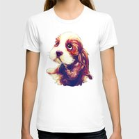puppy T-shirts featuring Puppy by Christi Lu