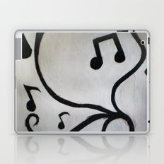 Music Notes Laptop & iPad Skin