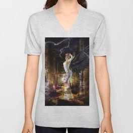Angel of Fire Unisex V-Neck
