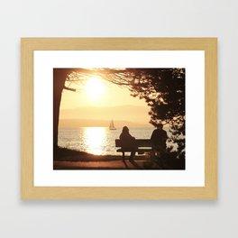 BOULEVARD PARK Framed Art Print
