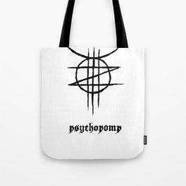 PSYCHOPOMP - White Tote Bag