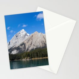 Mountains of Maligne Lake 8 Stationery Cards