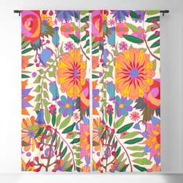 Just Flowers Lite Blackout Curtain