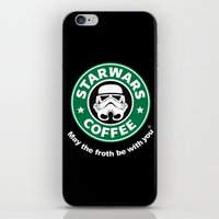 coffe iPhone & iPod Skins featuring SW Coffe by ismaeledits