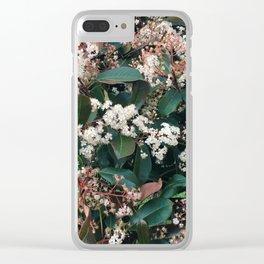 LES FLEURS II Clear iPhone Case