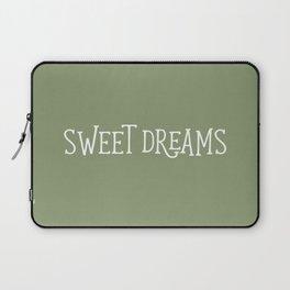 Sweet Dreams - Green Laptop Sleeve