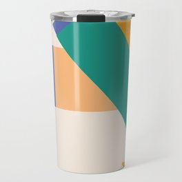Matisse Inspired Colorful Collage Travel Mug