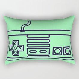 NES Controller - Retro style Rectangular Pillow