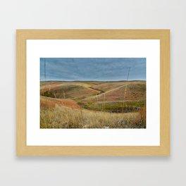 October in Grasslands National Park Framed Art Print