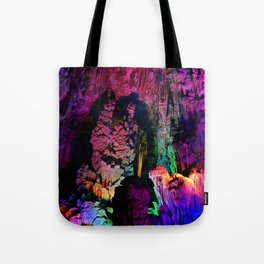 IDYLLIC FAIRYLAND // Reed Flute Cave, Guilin Tote Bag