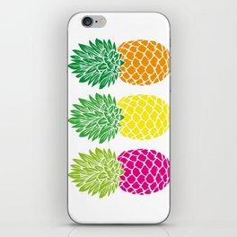 Pineapple Trio iPhone Skin