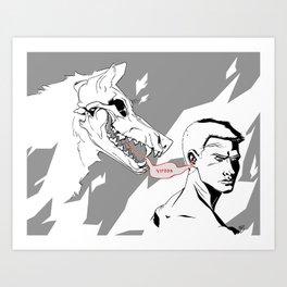 Whispers Art Print