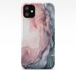 Blush and Blue Dream 1: Original painting iPhone Case